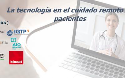 La tecnología como cuidado remoto de los pacientes